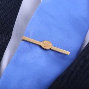 WMVF Tie Clip Gold